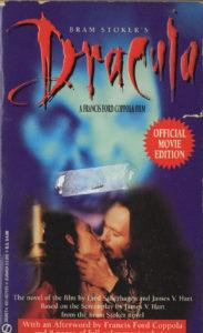 Bram Stoker's Dracula (1992) Front Cover of Movie Novelization