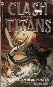 Clash of the Titans (1981) Front Cover of Movie Novelization