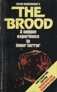 The Brood (1979) Front Cover of Movie Novelization