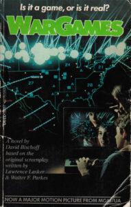 WarGames (1983) Front Cover of Movie Novelization