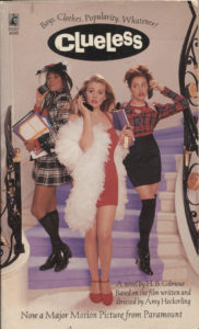 Clueless (1995) Front Cover of Movie Novelization
