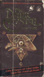 The Dark Crystal (1982) Front Cover of Movie Novelization