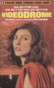 Videodrome (1982) Front Cover of Movie Novelization