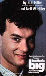 Big (1988) Front Cover of Movie Novelization